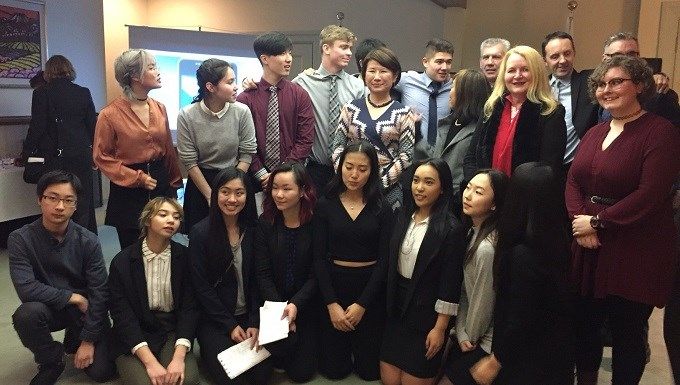 SD43 students celebrate exchange program trip to Japan