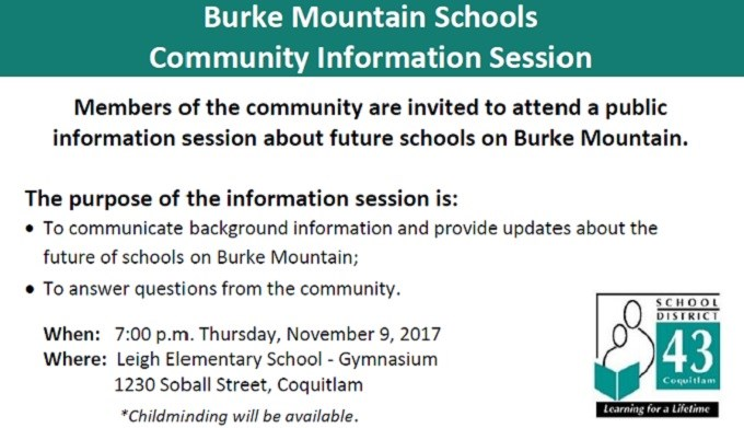 Burke Mountain Schools Community Information Session