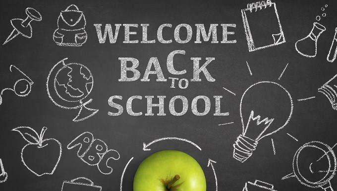 Students return to school on Tuesday, September 4!