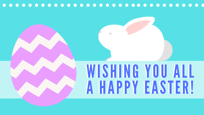 Happy Easter From all of us at SD43!