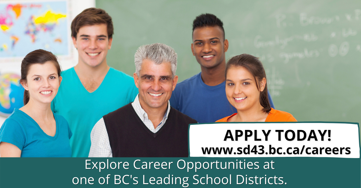 SD43 is Hiring!