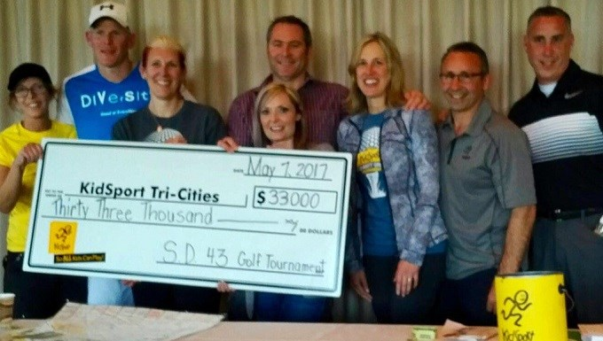SD43 raises $33K at annual golf tournament