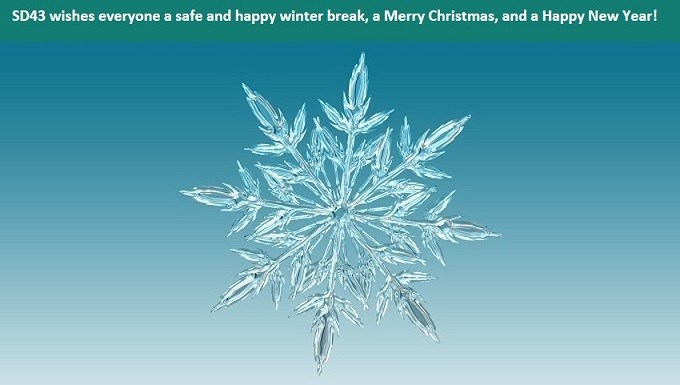 Have a safe and happy winter break! School resumes on Monday, January 8, 2018.