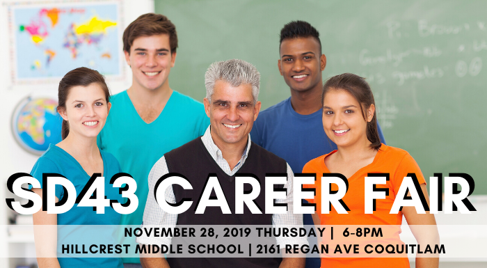 Coquitlam School District Career Fair