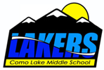 Como Lake Middle School logo