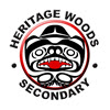 Heritage Woods Secondary School logo