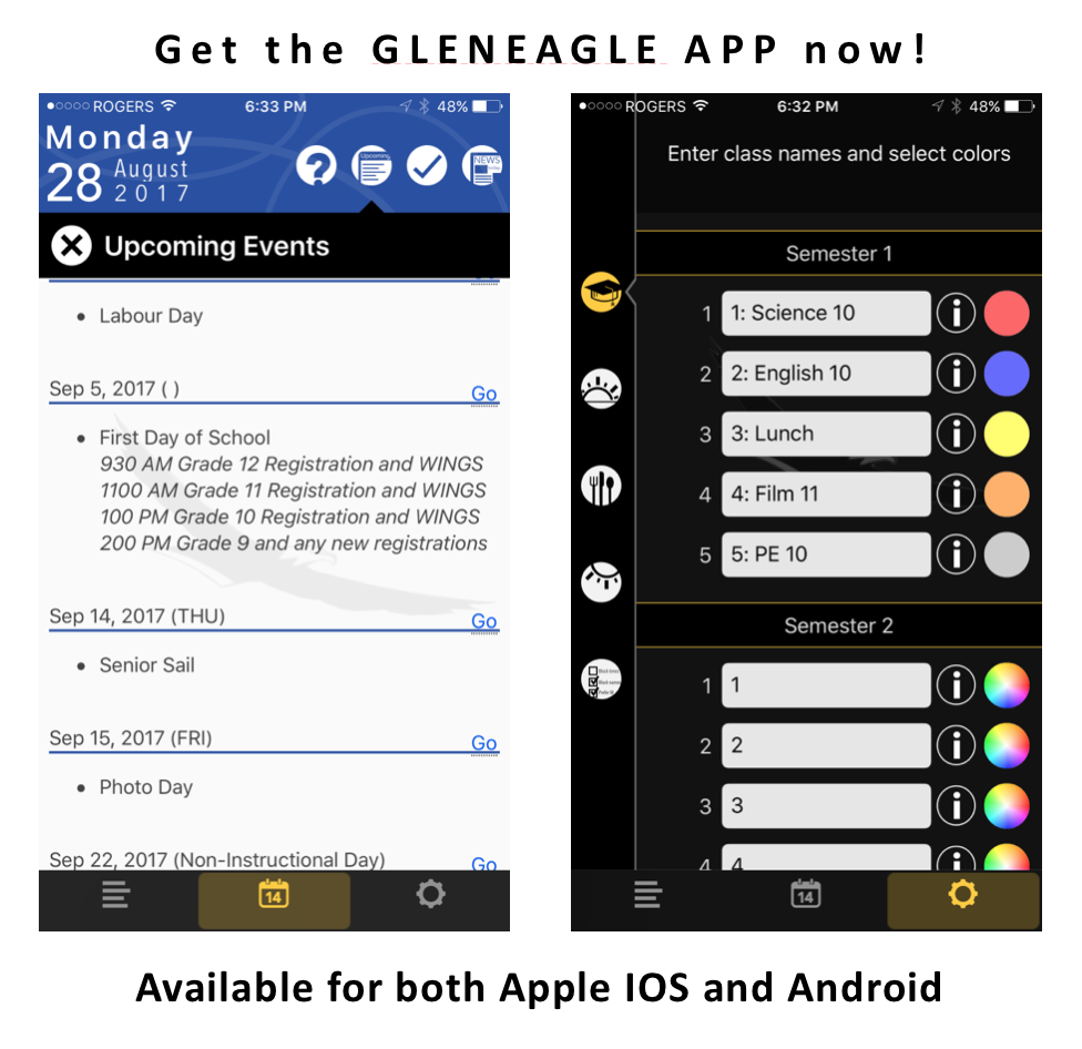 The Gleneagle App has evolved!