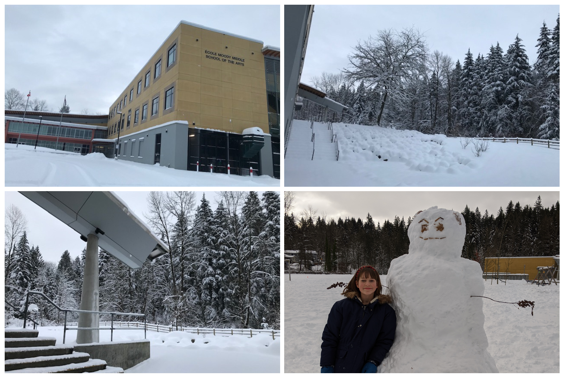 Fun snow days at Moody Middle!