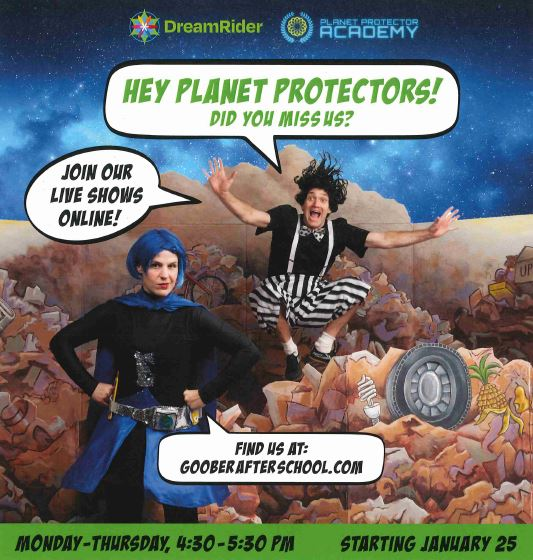 Planet Protector Academy Online Shows