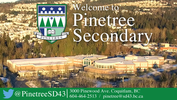 Welcome to Pinetree Secondary