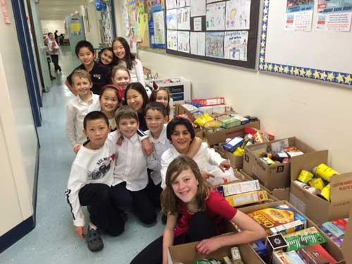 Nestor elementary Share Donation