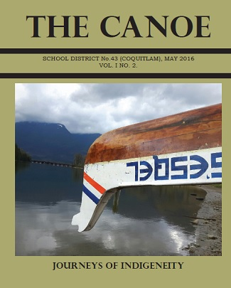 The Canoe magazine cover