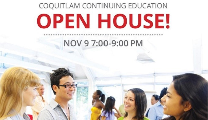 Coquitlam Continuing Education Open House