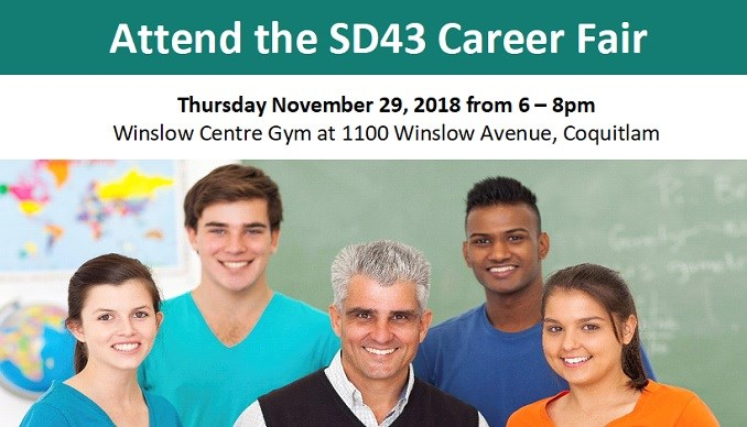 Missed our Career Fair but still interested in joining SD43?