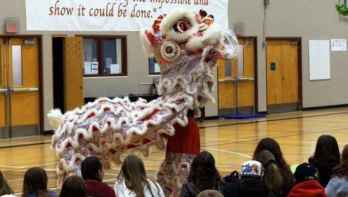 Many SD43 schools celebrate Lunar New Year of the Dog.