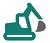 Construction Icon Set Green 3