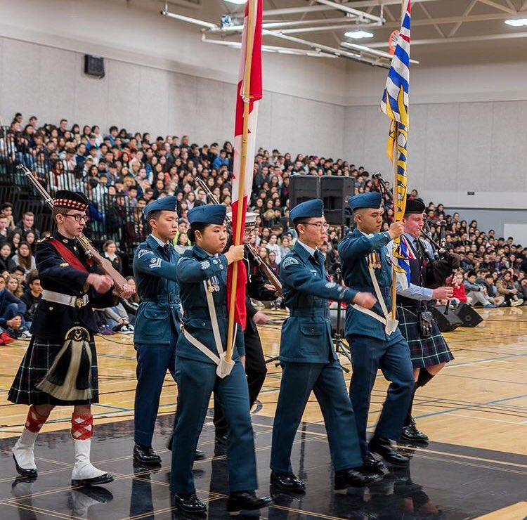 Remembrance Day school assembly 2018 2.jpg