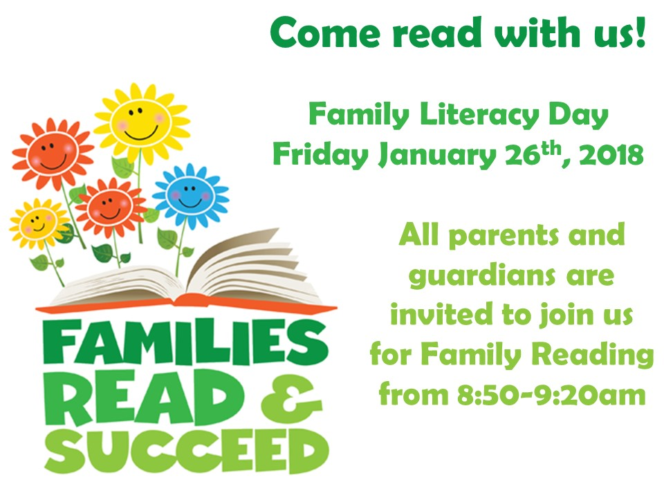 Family Literacy Day 2018