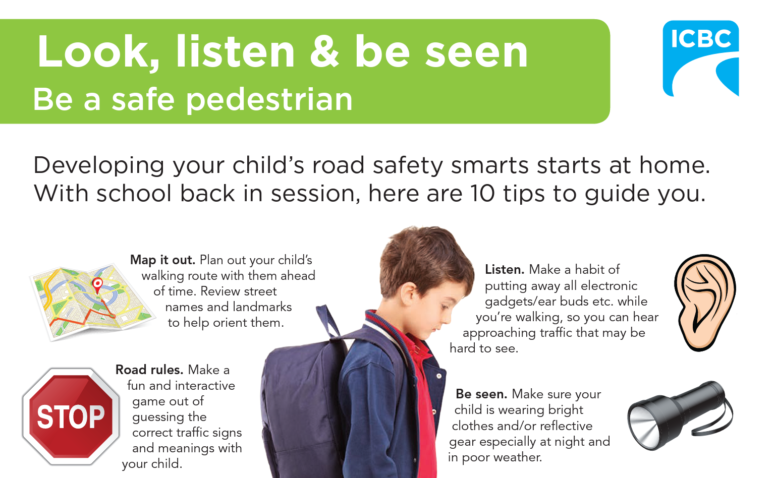 Teach Your Child to be a Safe Pedestrian